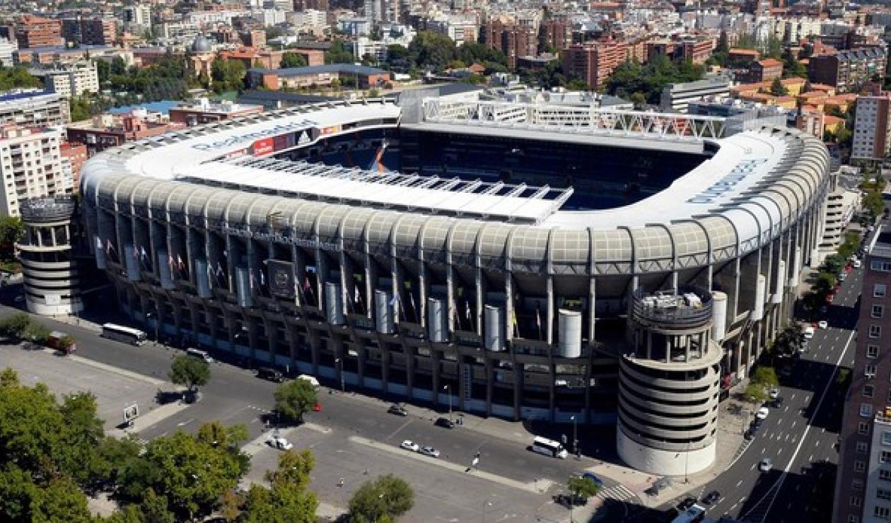 Estadio Santiago Bernabéu de Madrid