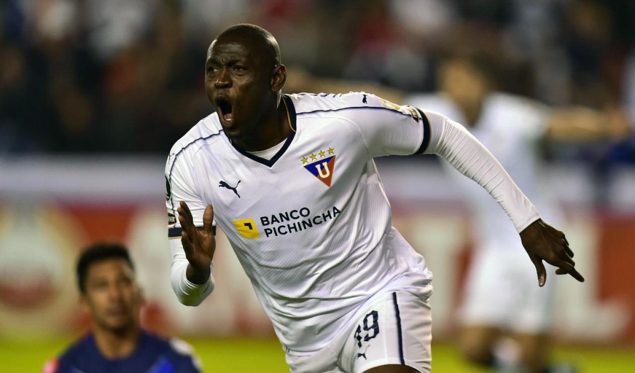 Cristian Martínez Borja, delantero colombiano
