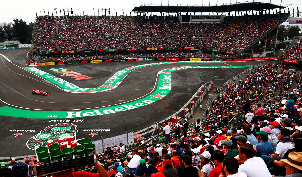 El Gran Premio de México se mantendría en la Fórmula 1 para 2020