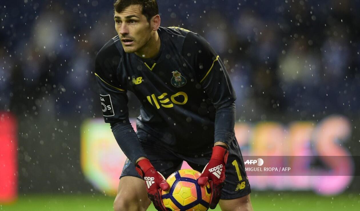 Íker Casillas se perderá lo que resta de la temporada en Portugal.