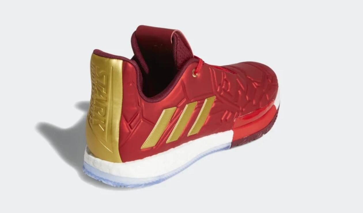 Zapatillas de Iron Man de Adidas