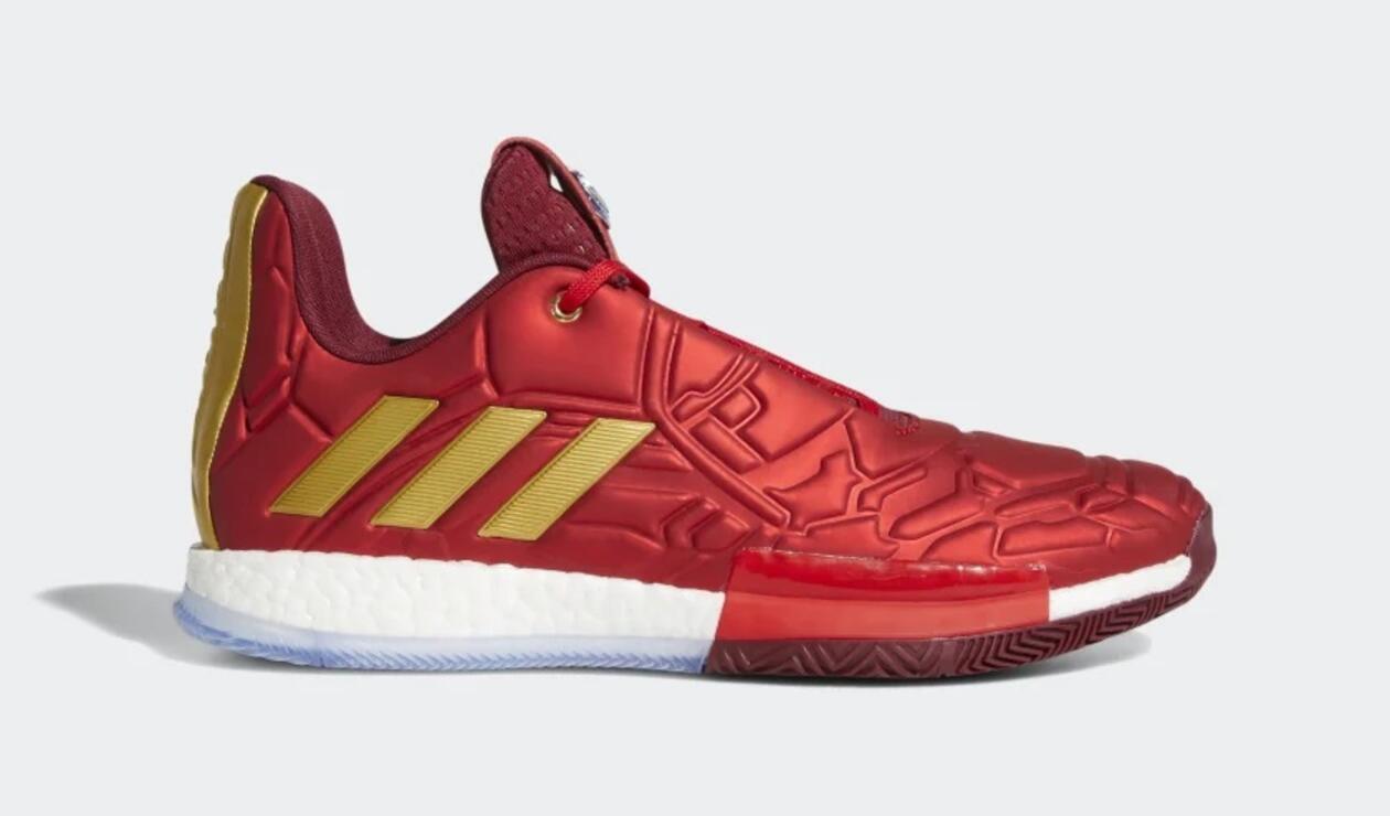 Tenis de Iron Man de Adidas