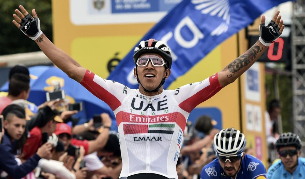 Juan Sebastián Molano, ciclista colombiano.