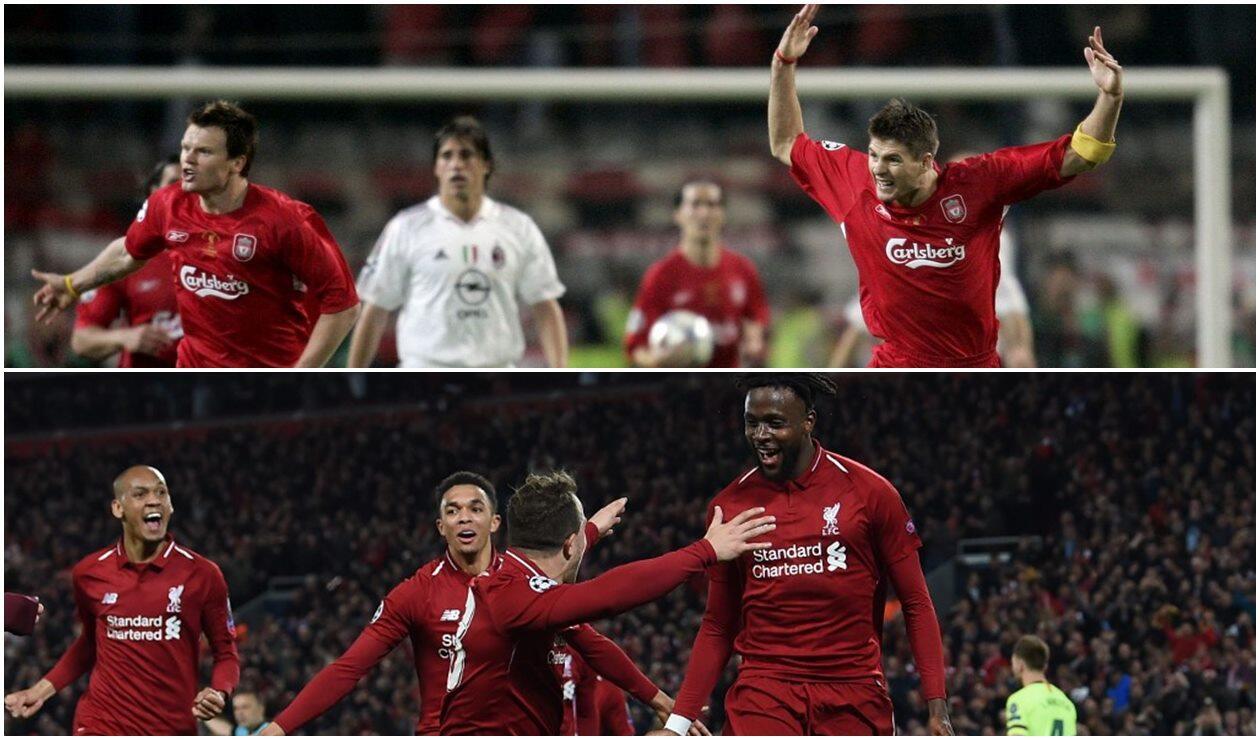Los milagros de Liverpool en 2005 y 2019