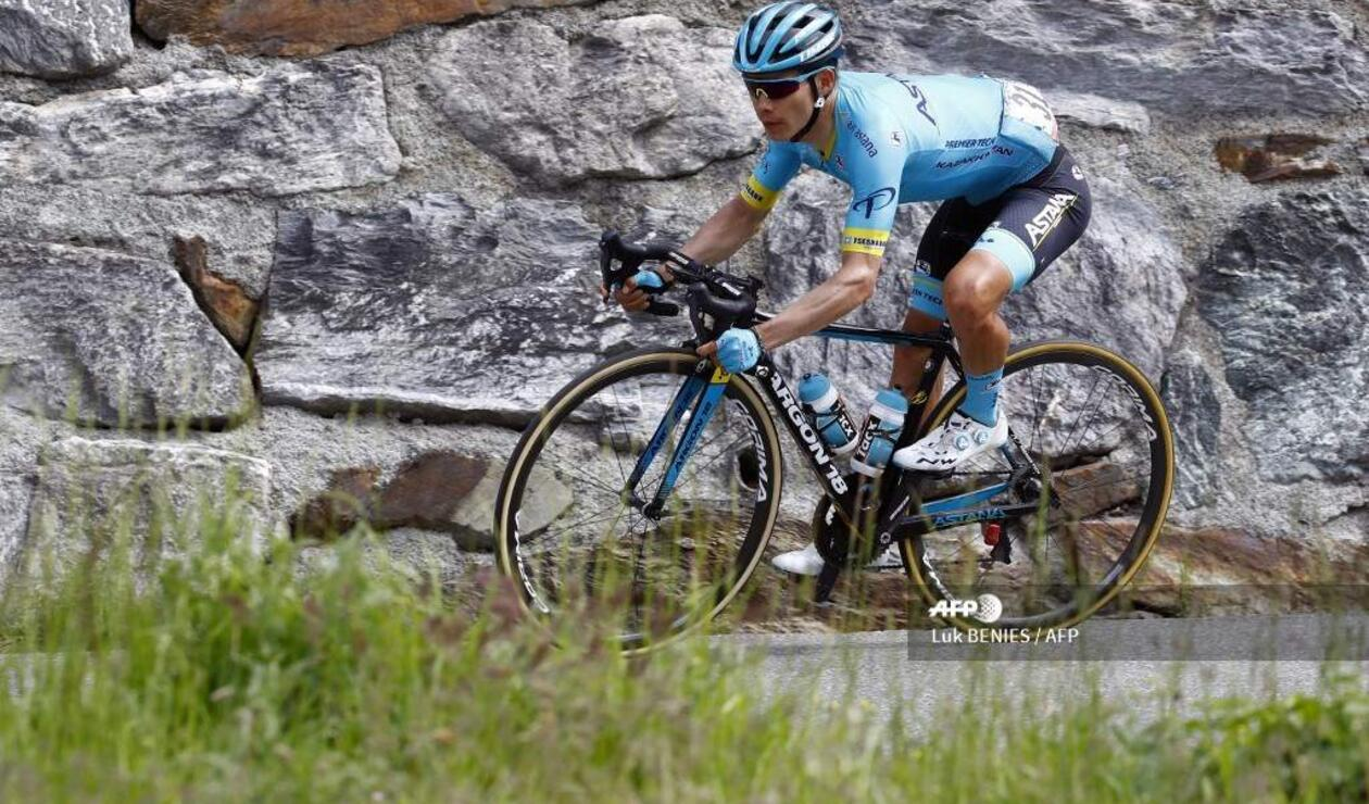 Miguel Ángel López, ciclista colombiano del Astana
