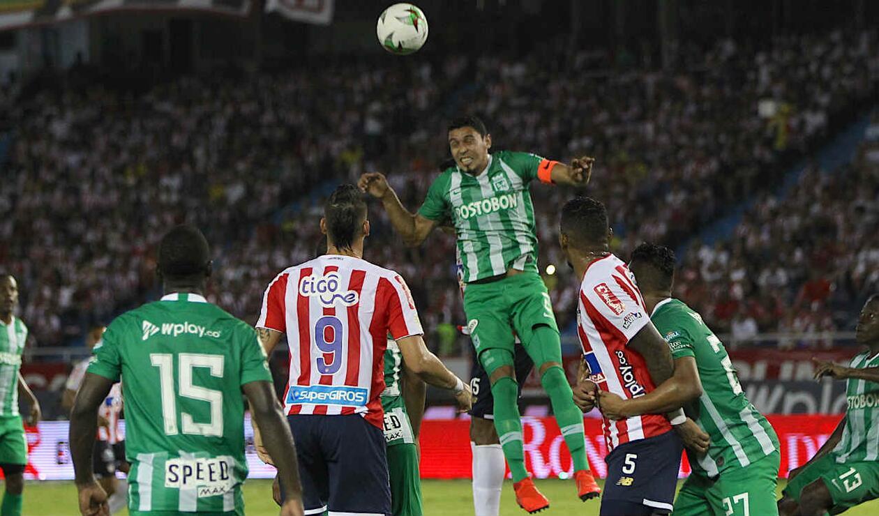 Atlético Nacional Vs Junior