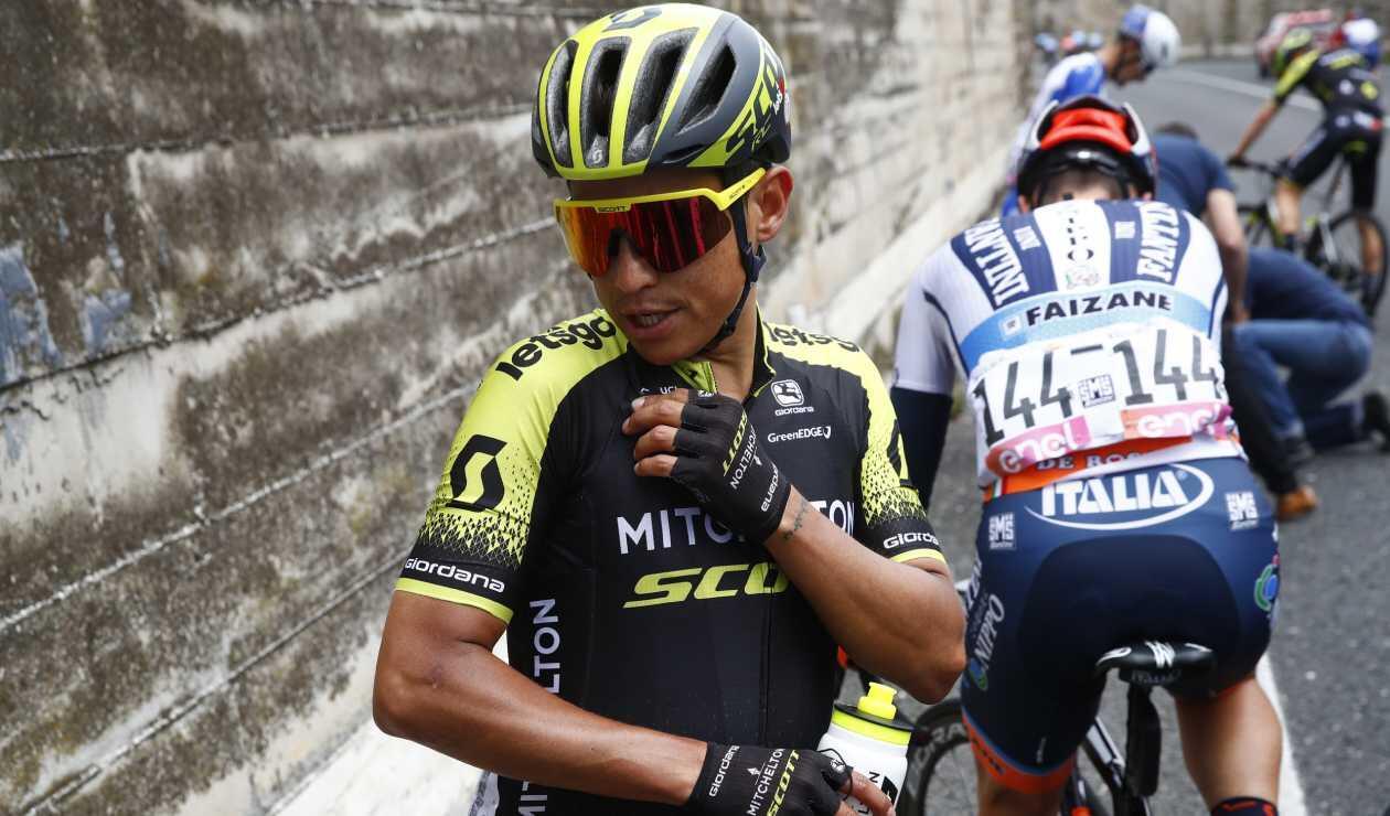 Esteban Cheves - Giro de Italia