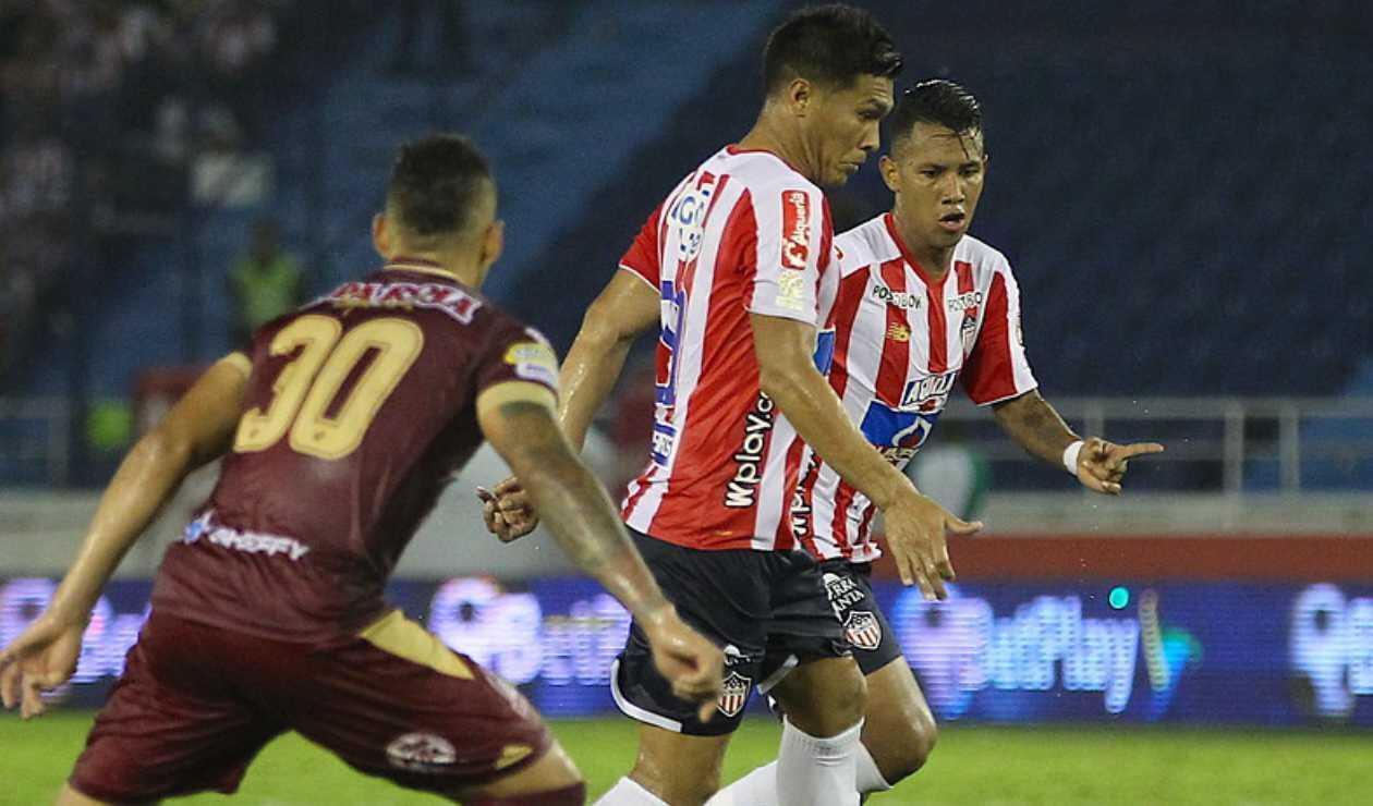Junior vs Deportes Tolima