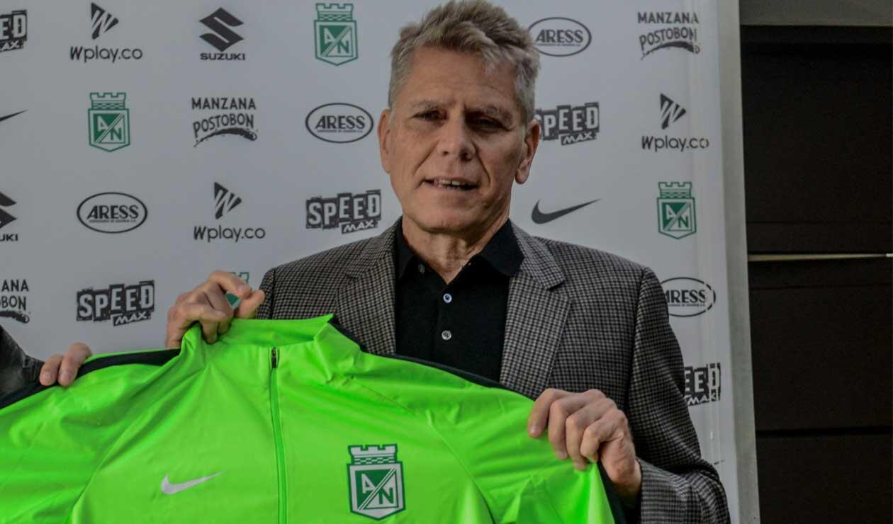 Paulo Autuori, técnico que se despidió de Atlético Nacional