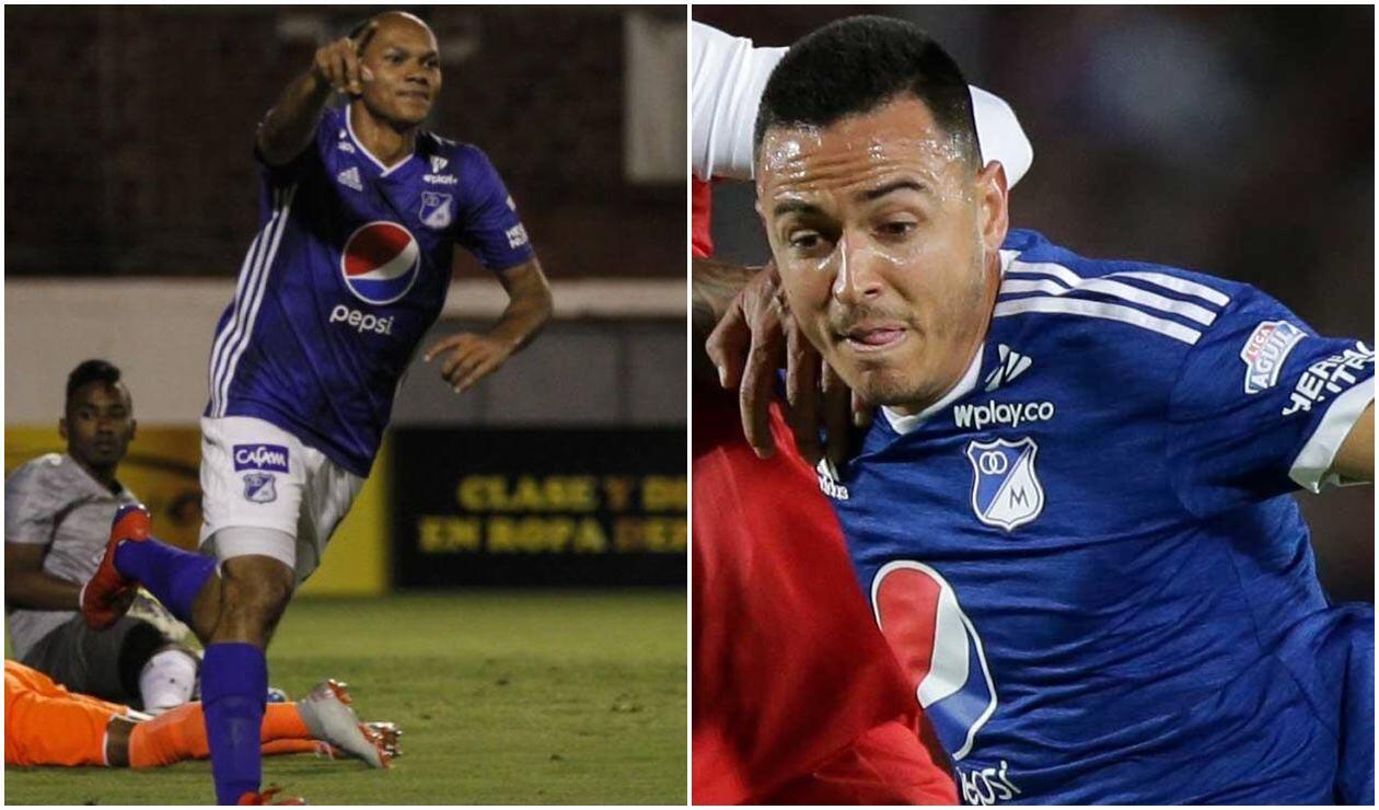 Pérez y Montoya estarán para los cuadrangulares con Millonarios