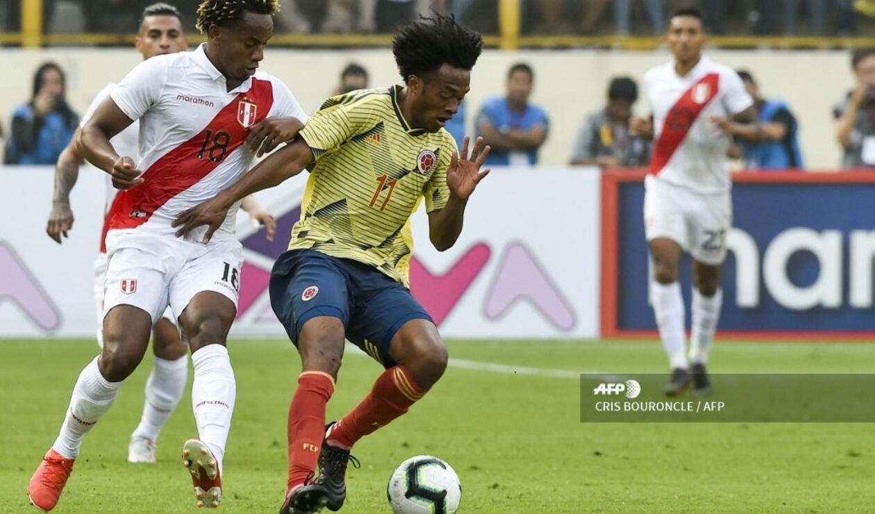 Colombia Perú Amistoso 2019