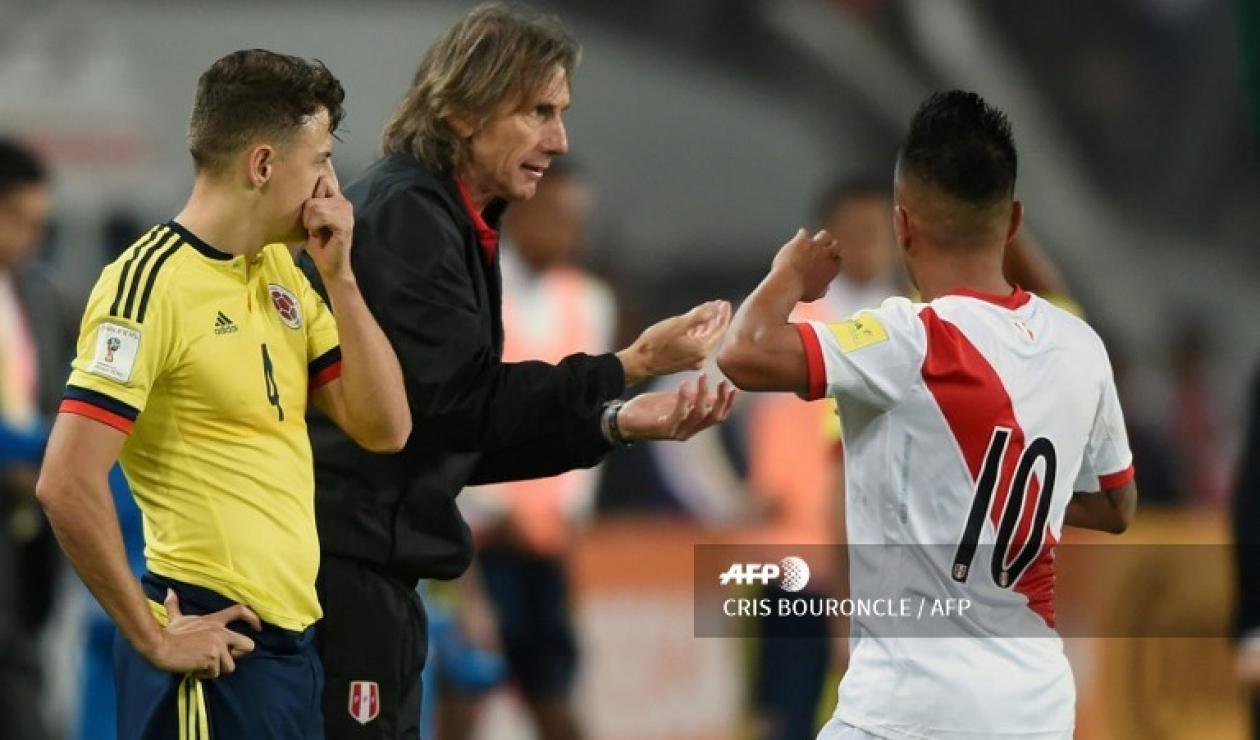 Selección Colombia vs Perú, eliminatorias Rusia 2018