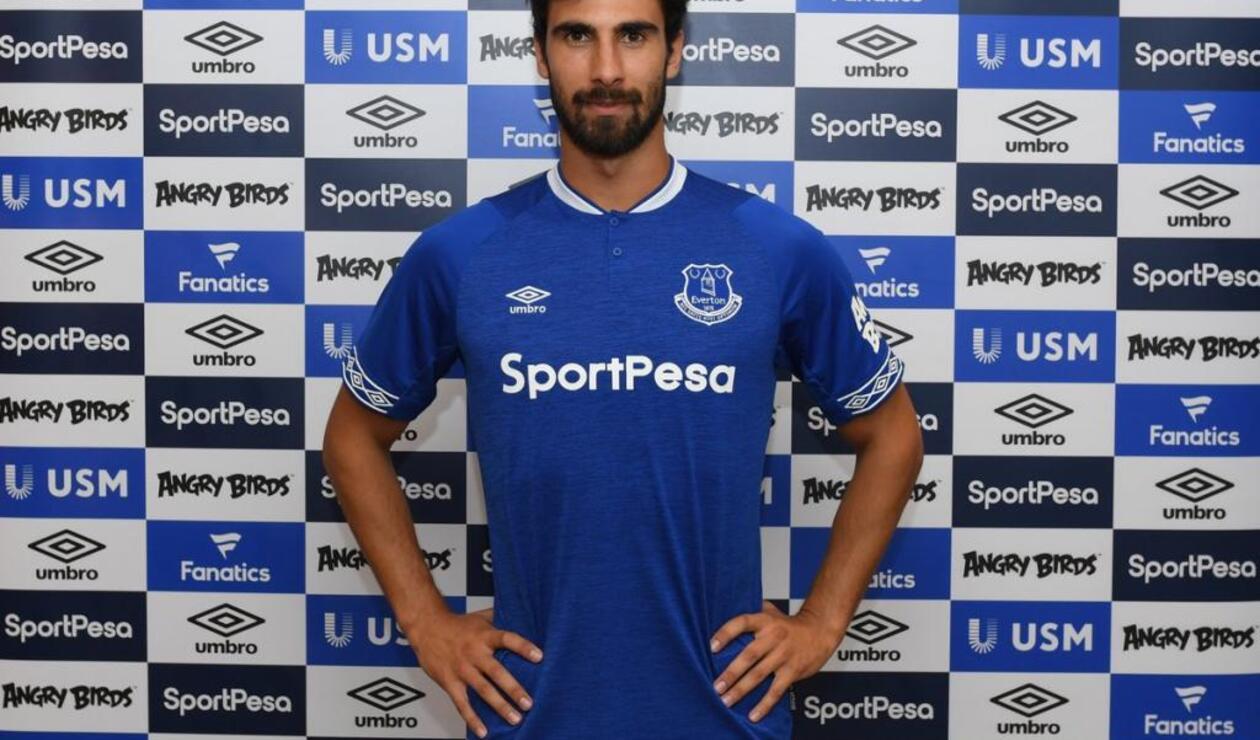 André Gomes se convirtió en jugador del Everton.