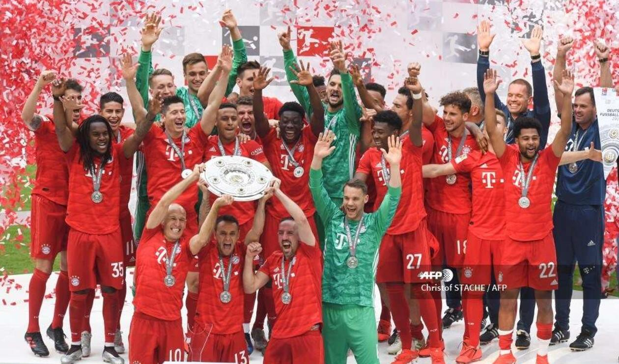 Bayern Munich campeón 2019