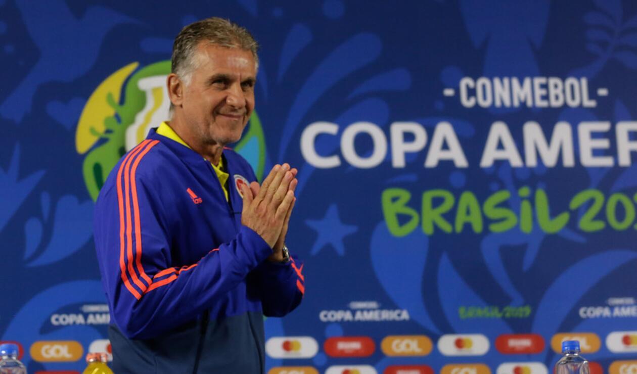Carlos Queiroz, DT de la Selección Colombia