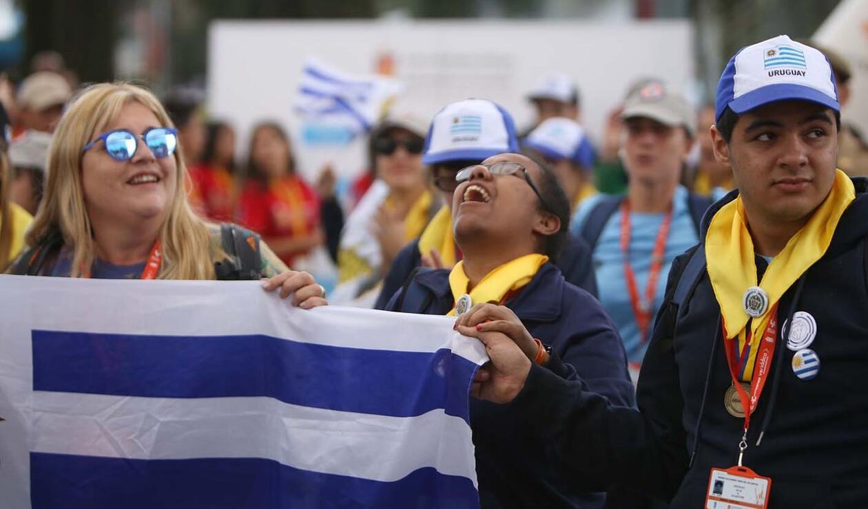 Las delegaciones así celebraron en las Olimpiadas Fides 2019.