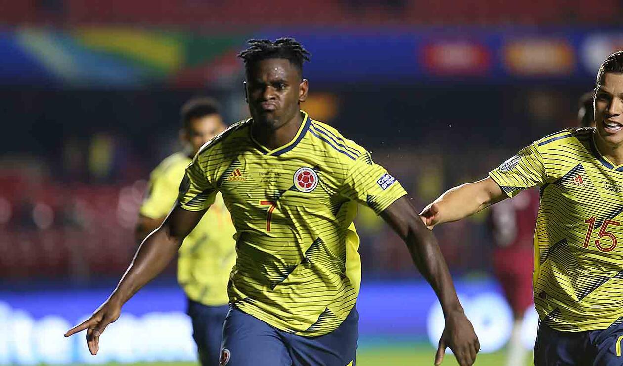 Colombia venció a Catar con gol de Duván Zapata en la Copa América.