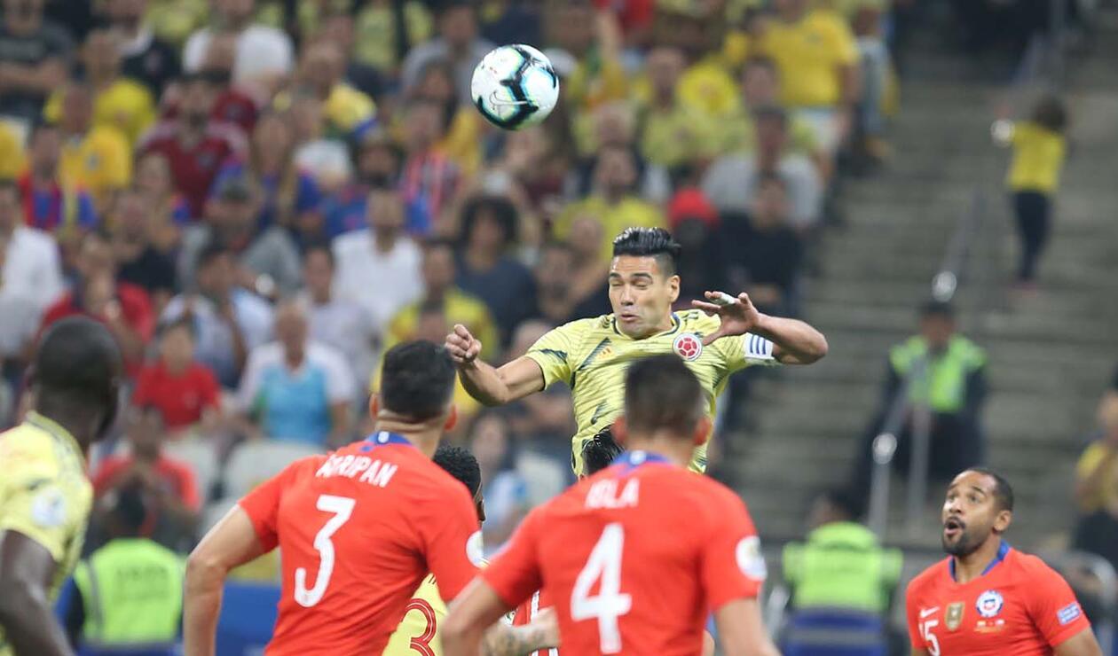 Colombia Vs Chile Paquete 1