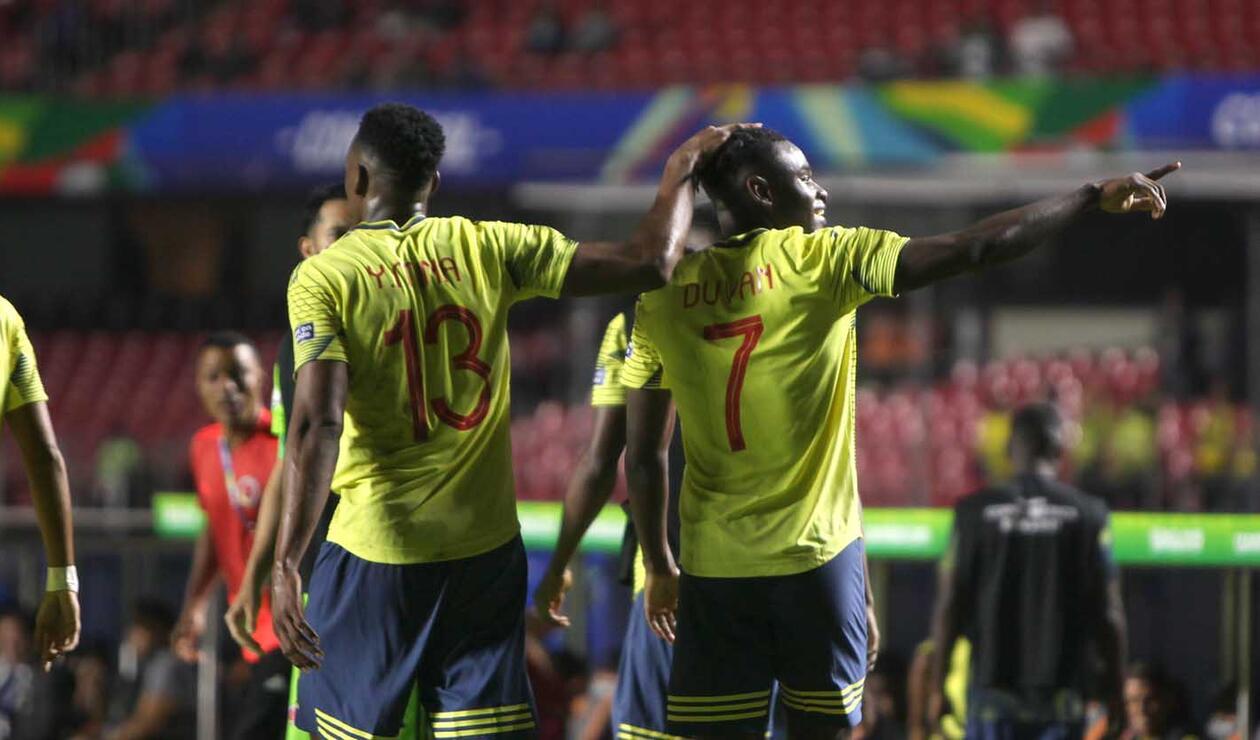 Selección Colombia, Copa América, Duván Zapata