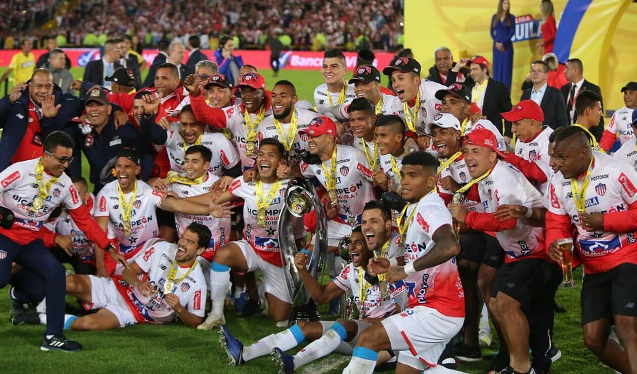 Junior campeón de la Liga Águila.