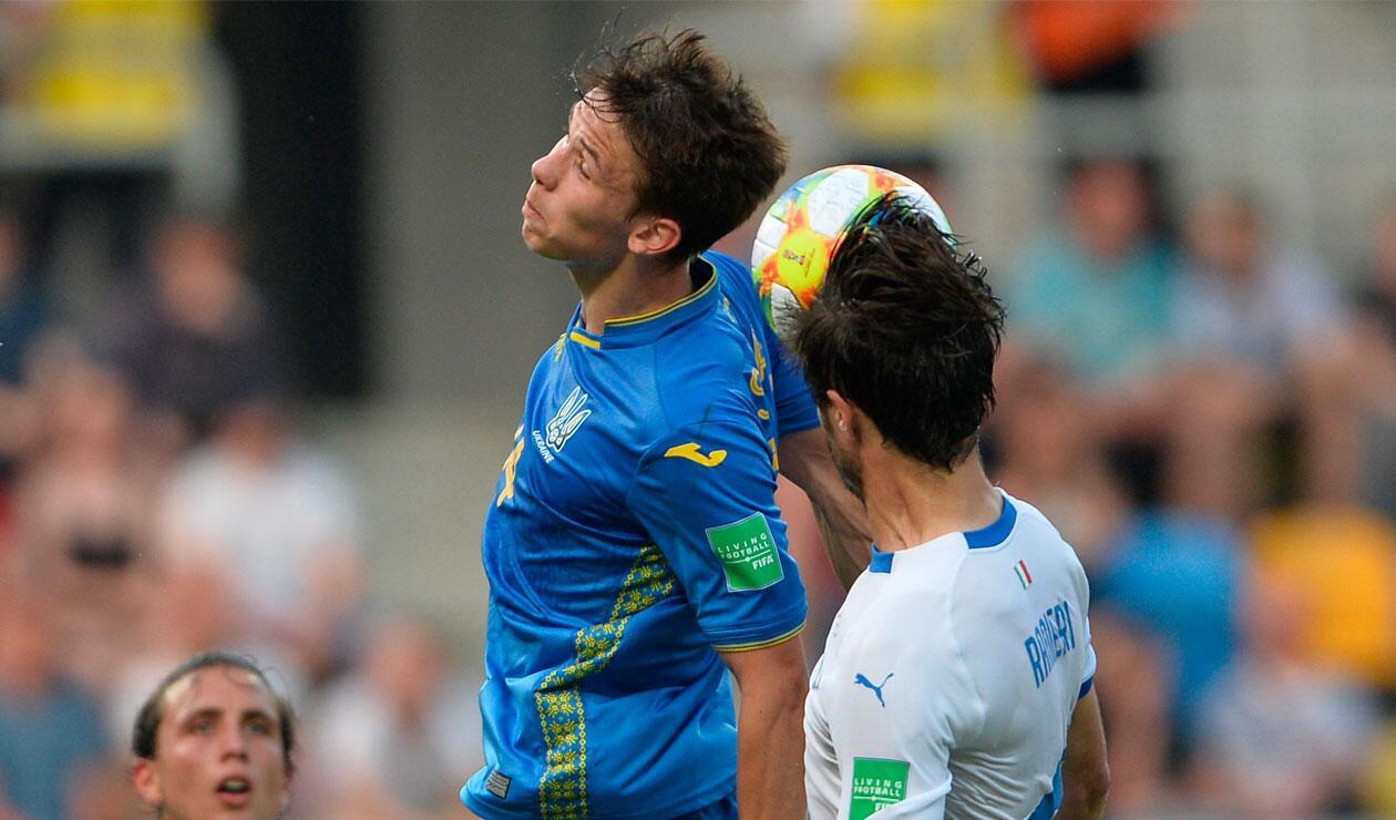 Italia no pudo el poder de Ucrania en semifinales del Mundial sub 20.