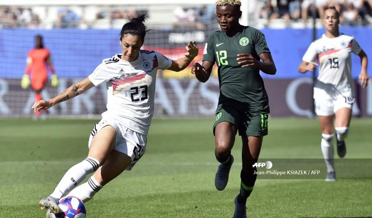 Alemania vs Nigeria - Mundial Femenino