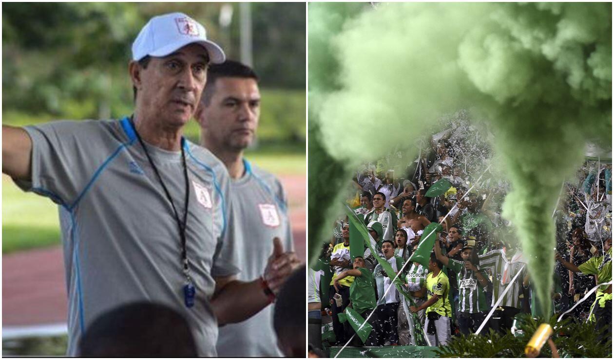 Alexandre Guimaraes, técnico del América, interesado en un jugador de Nacional