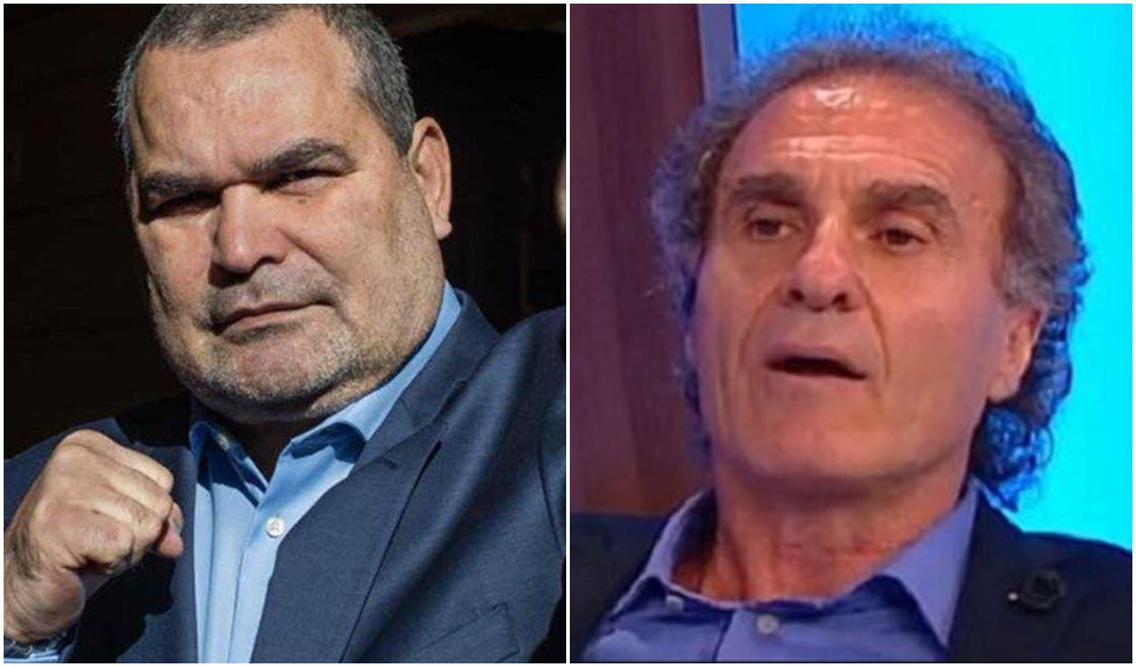 José Luis Chilavert y Óscar Ruggeri
