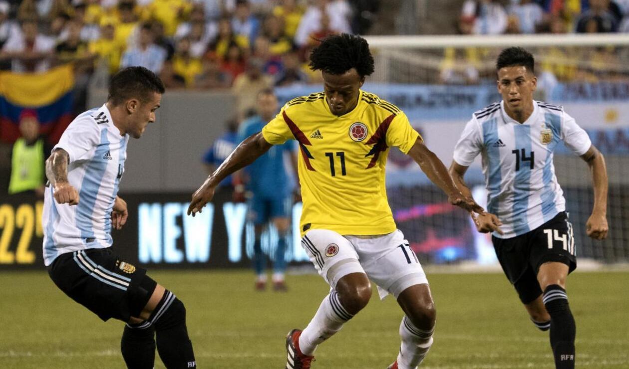 Colombia vs Argentina - amistoso 2018