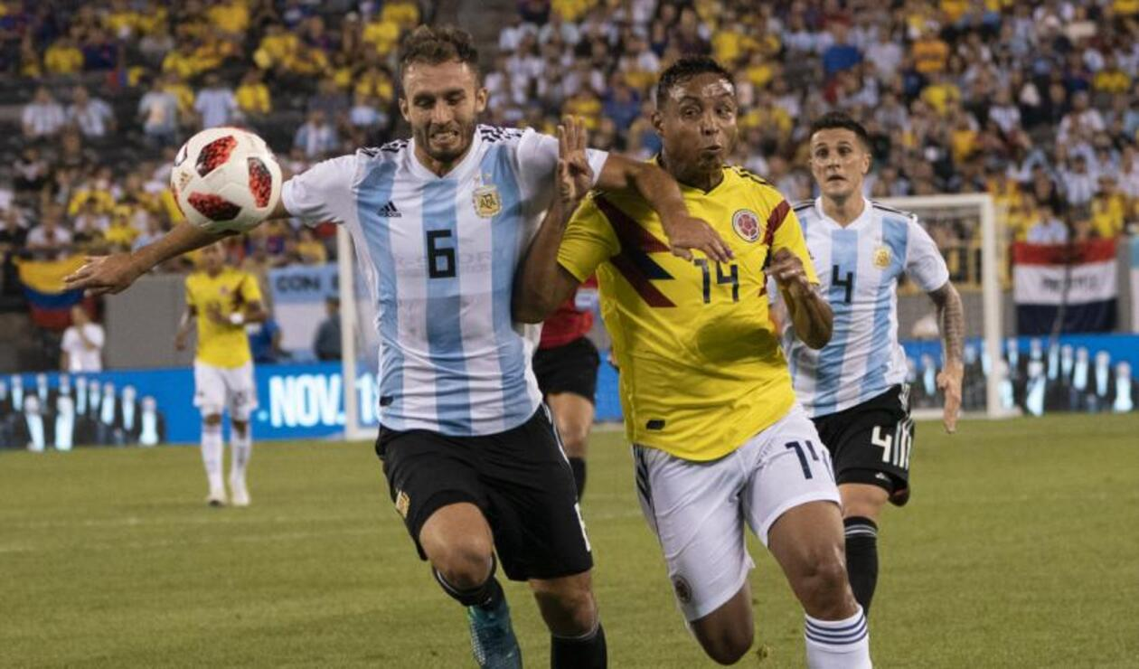 Colombia vs Argentina, amistoso 2018