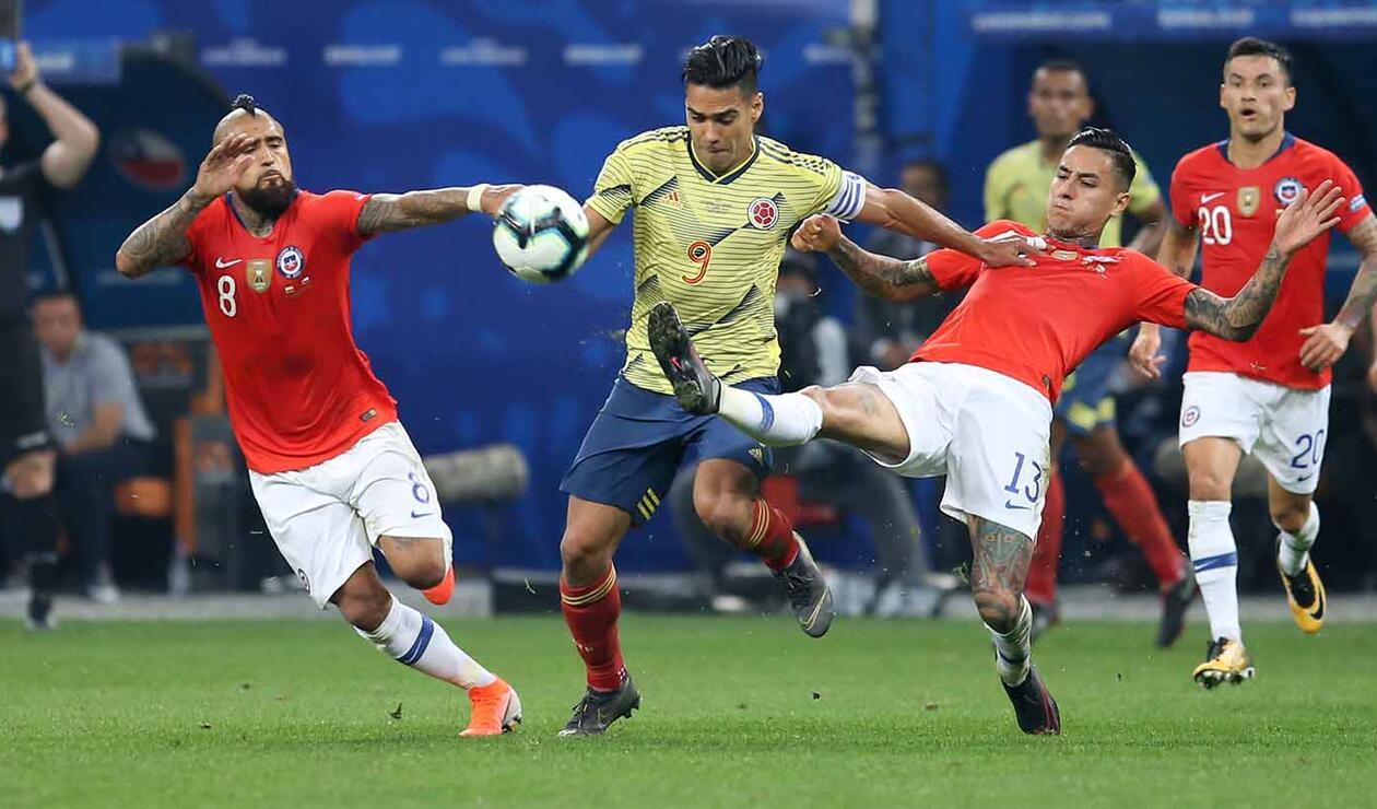 Colombia Vs Chile Paquete 3