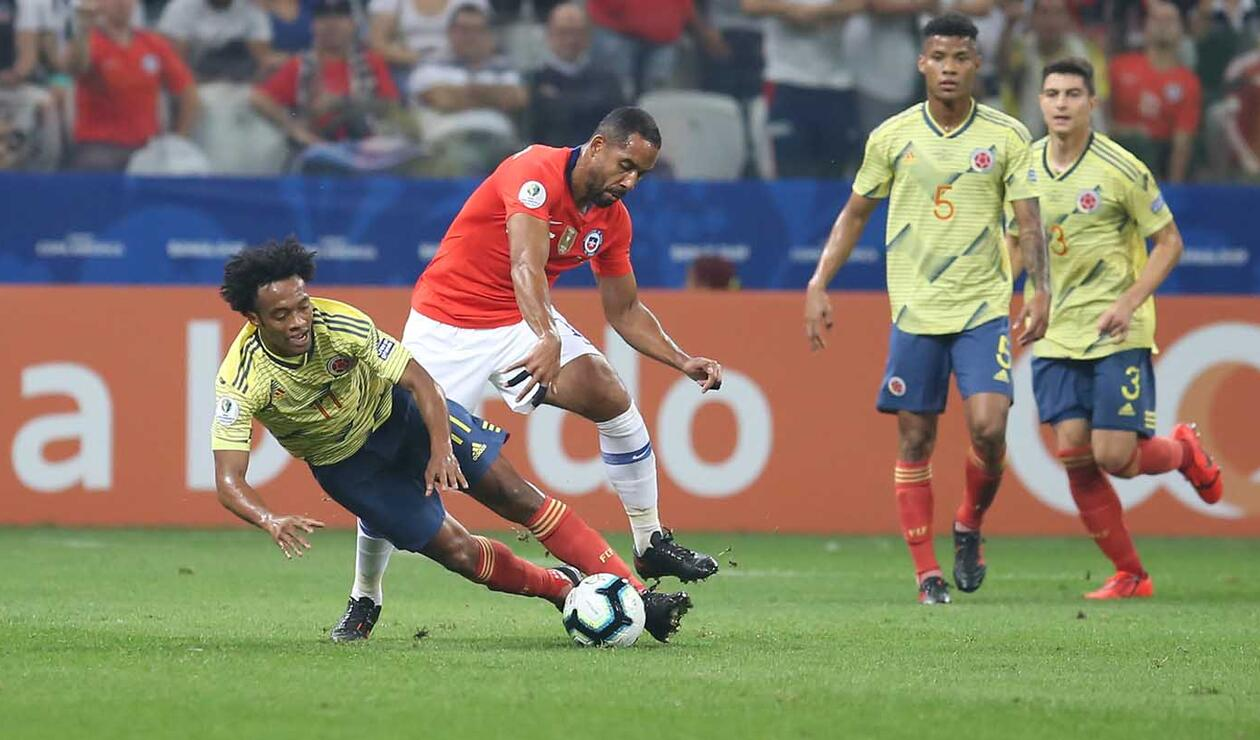Colombia Vs Chile Paquete 2