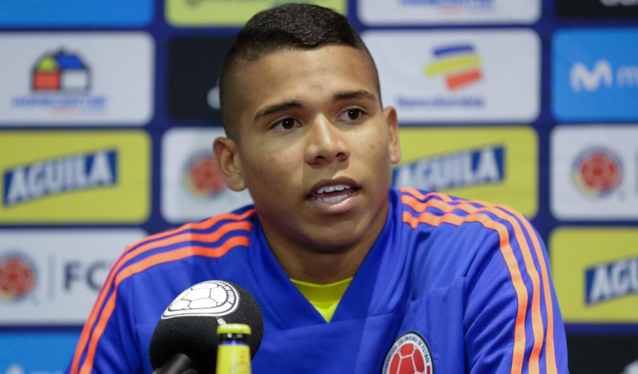 Kevin Mier - Selección Colombia Sub 20
