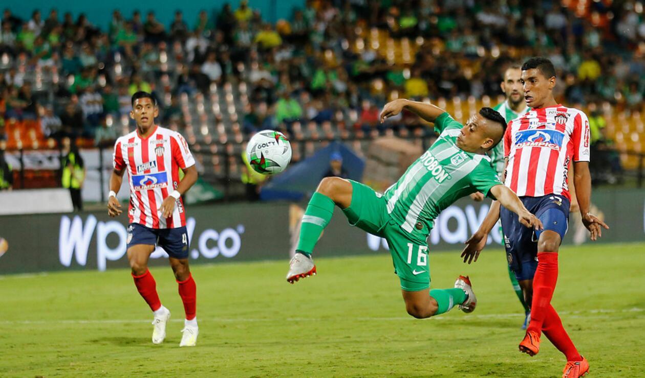 Atlético Nacional vs Junior de Barranquilla - Liga Águila