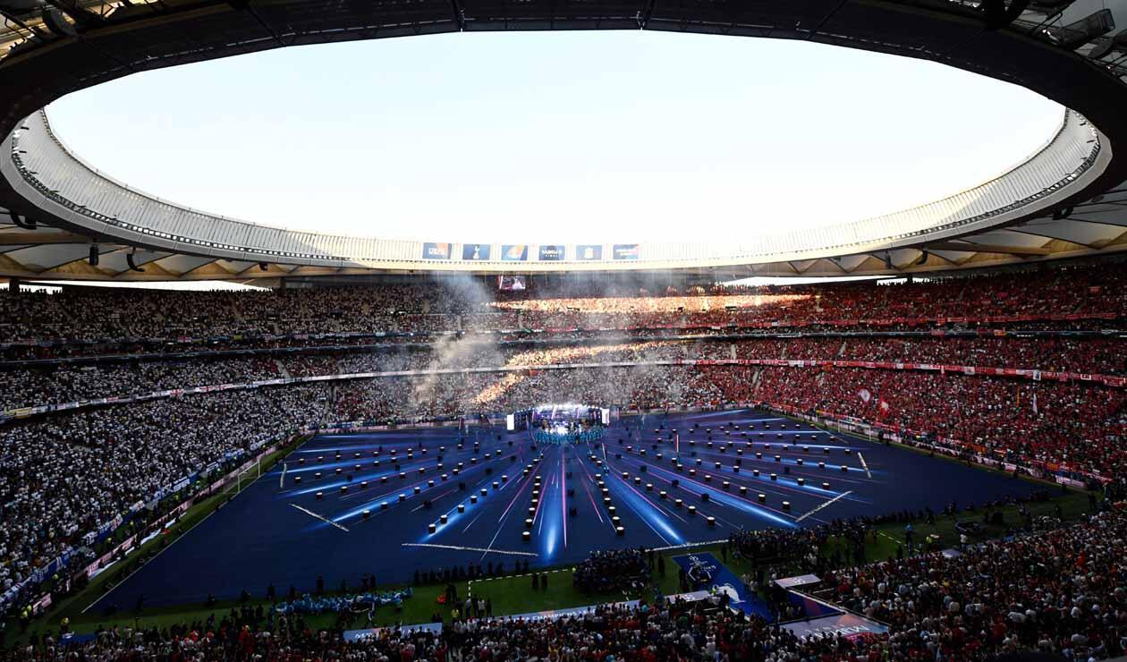 Show de la final de la Champions League