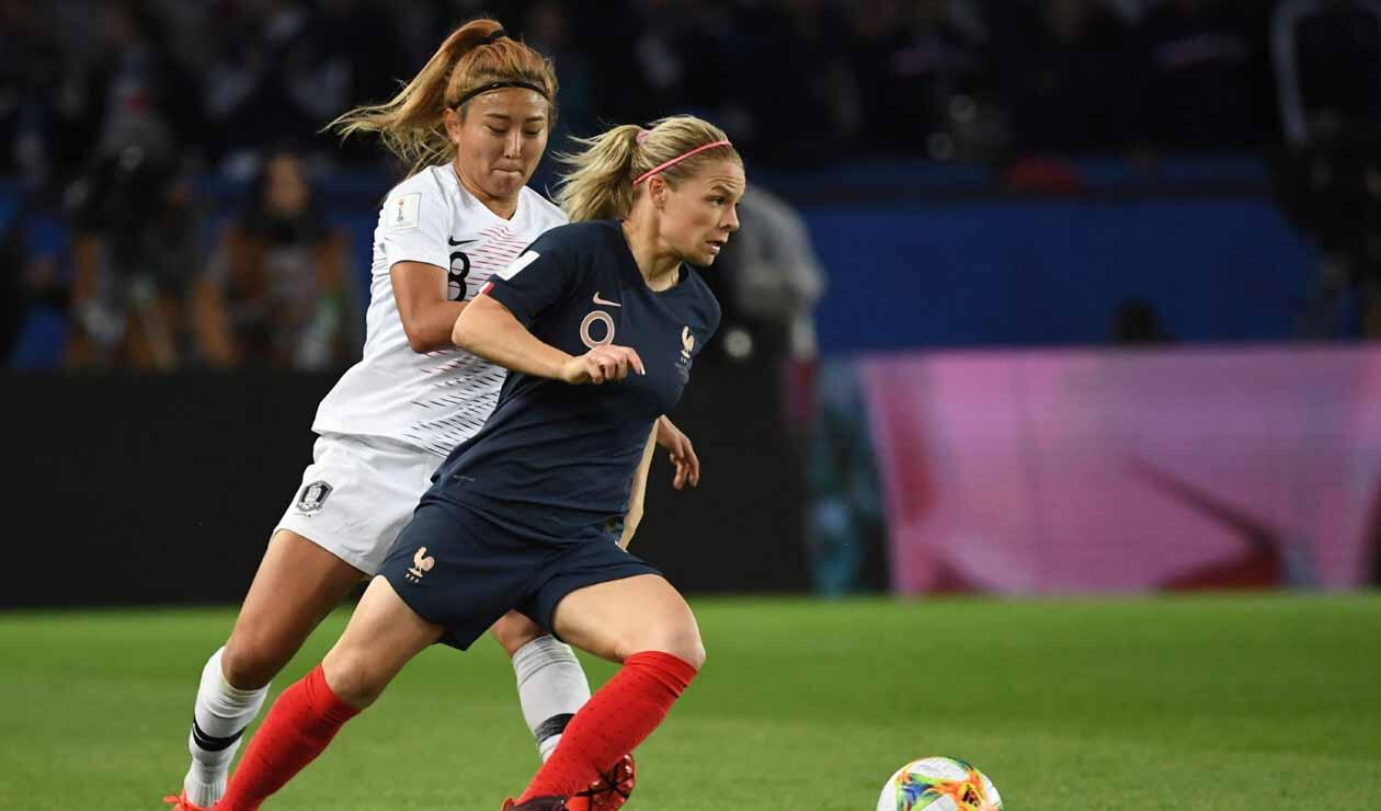 Francia vs Corea del Sur