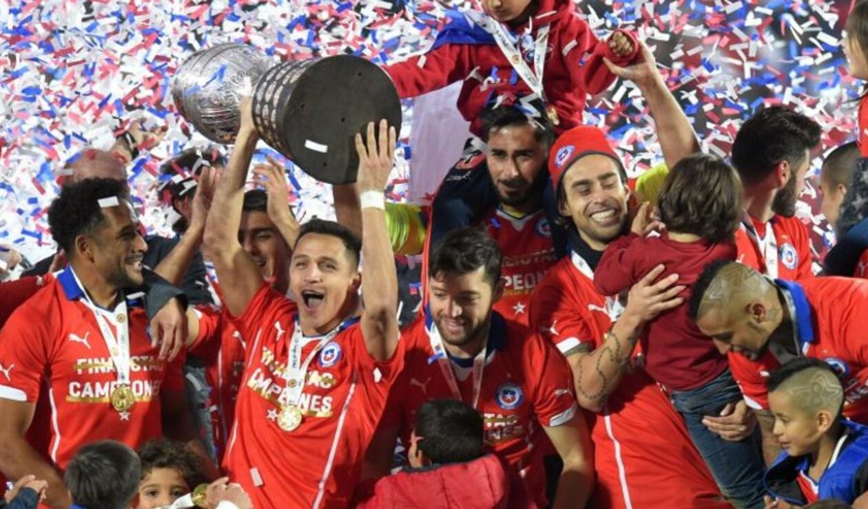 Resultado de imagen para chile campeón