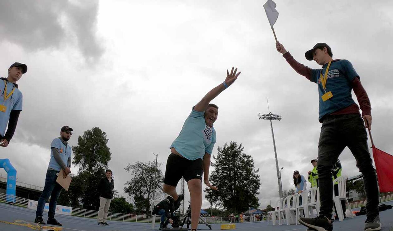 El atletismo fue uno de los deportes clave en las Olimpiadas Especiales Fides