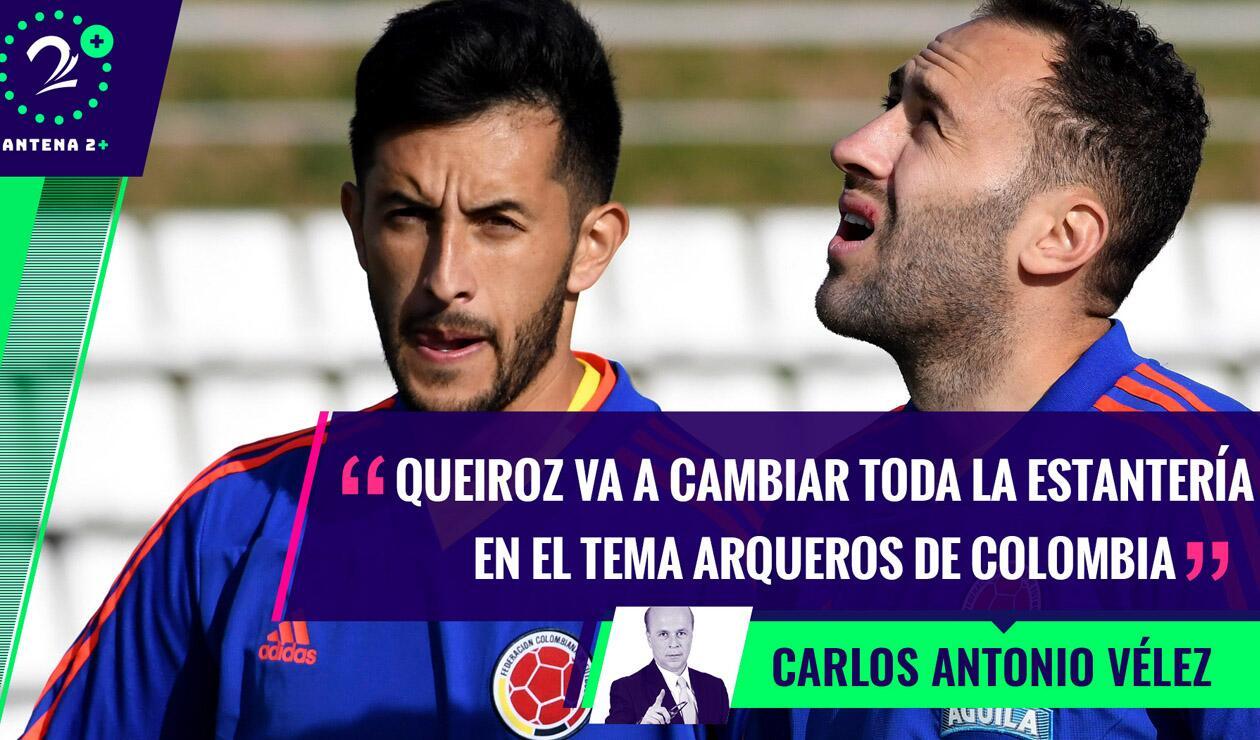 Camilo Vargas y David Ospina