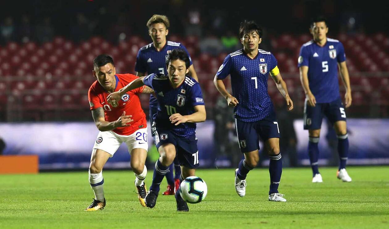 Japón vs Chile - Copa América
