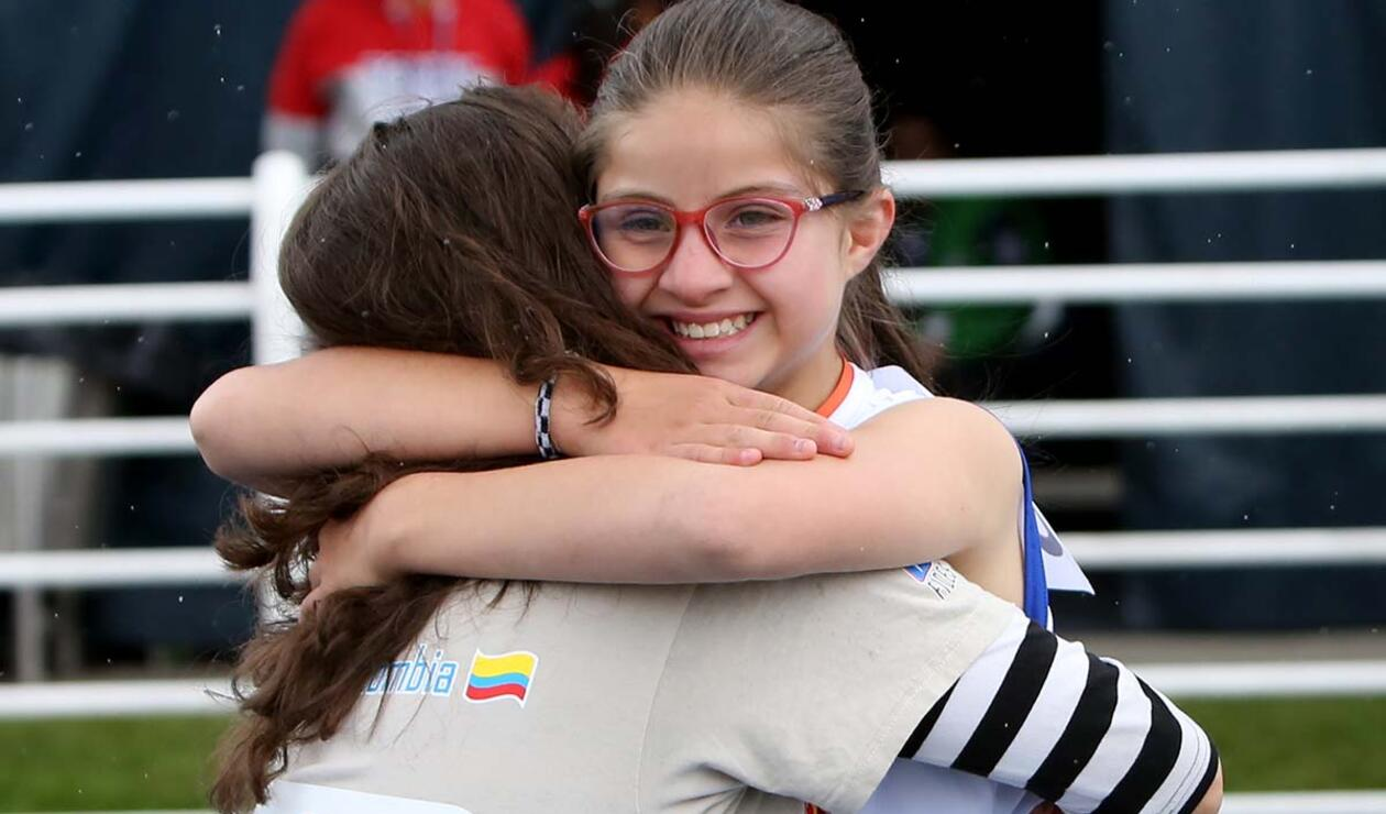 La alegría de competir y compartir, en las Olimpiadas Especiales Fides Compensar