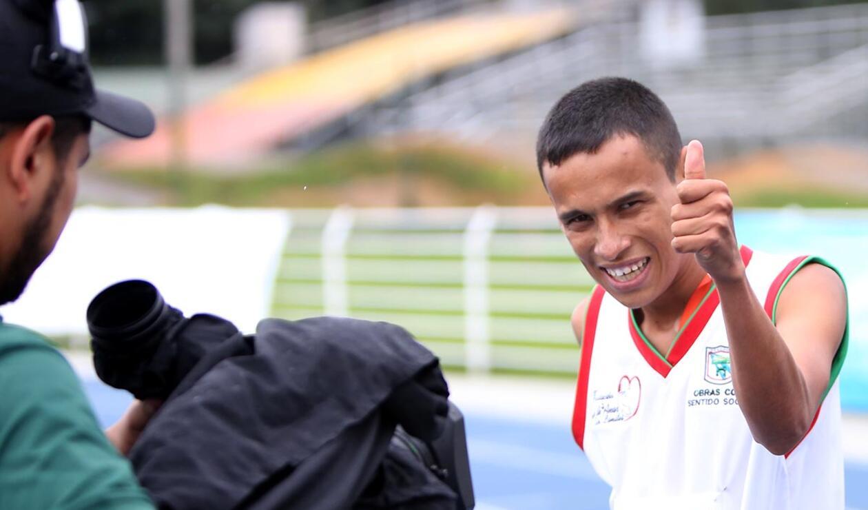 Alegría y satisfacción entre los deportistas de las Olimpiadas Especiales Fides