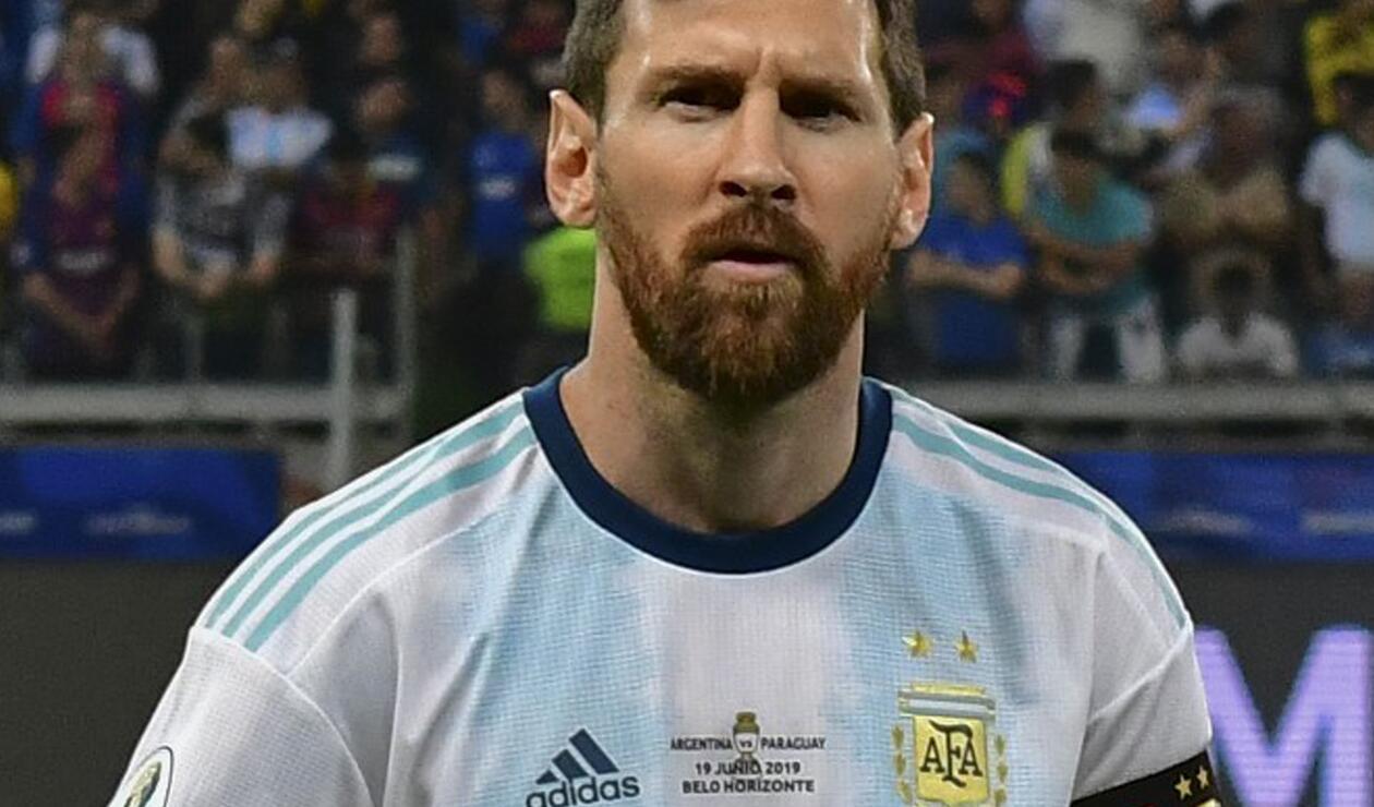 Lionel Messi en la Copa América de Brasil
