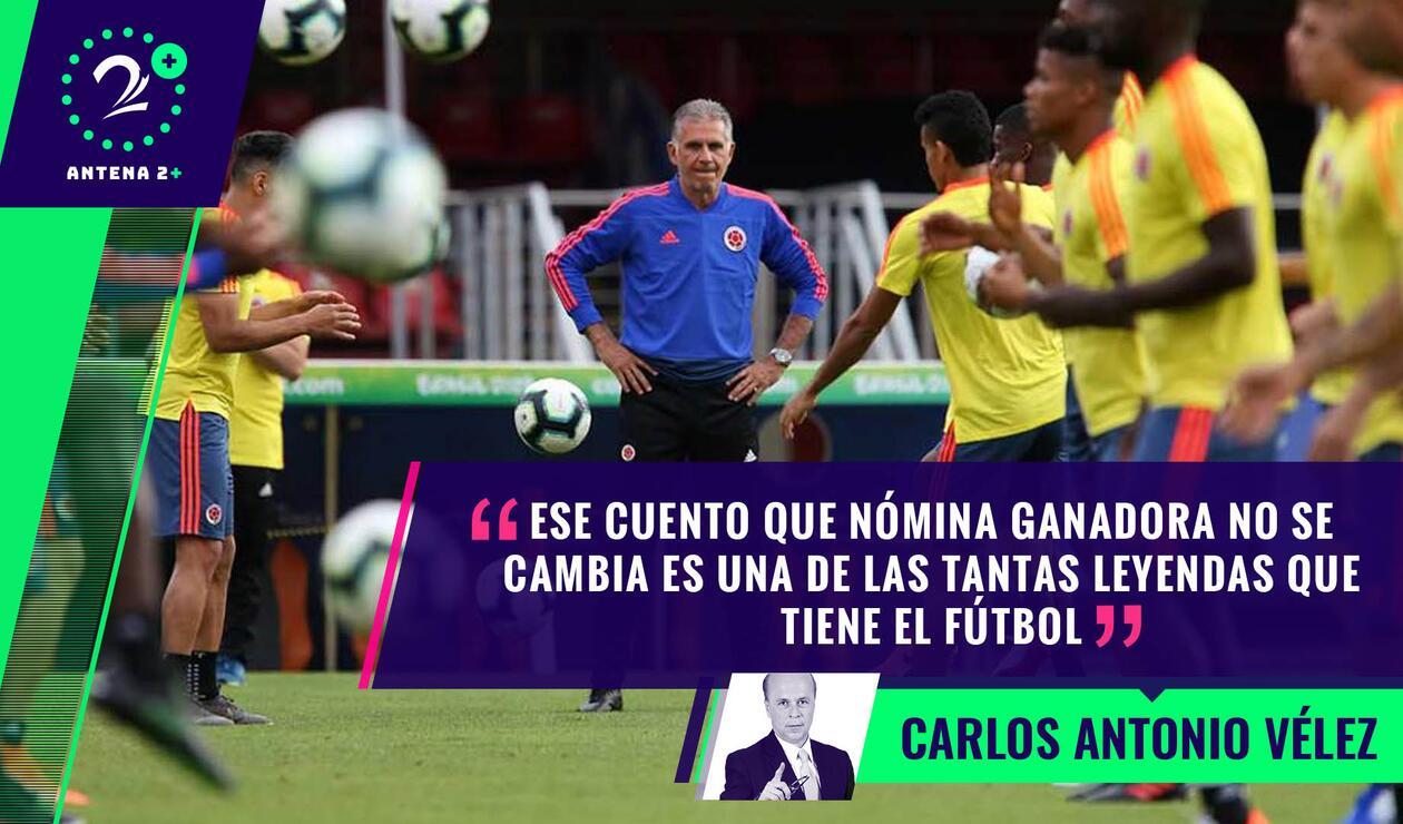 Palabras Mayores 19 de junio de 2019 - Selección Colombia entrenando