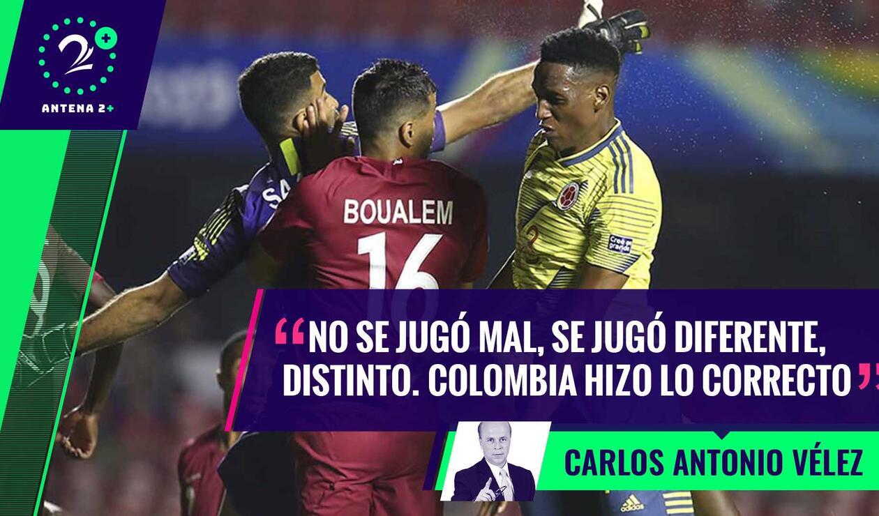 Palabras Mayores - Selección Colombia ante Catar