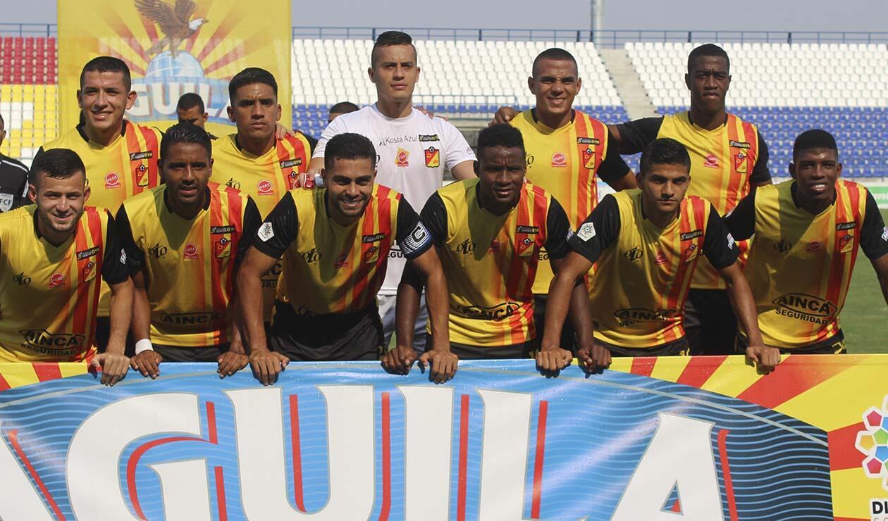 Deportivo Pereira, equipo formado
