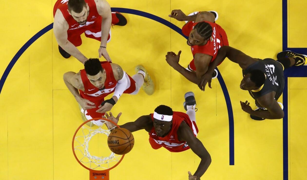 Warriors vs Raptors - cuarto juego final NBA