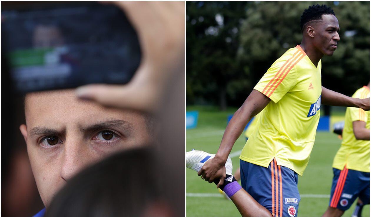 Santiago Arias y Yerry Mina - Selección Colombia