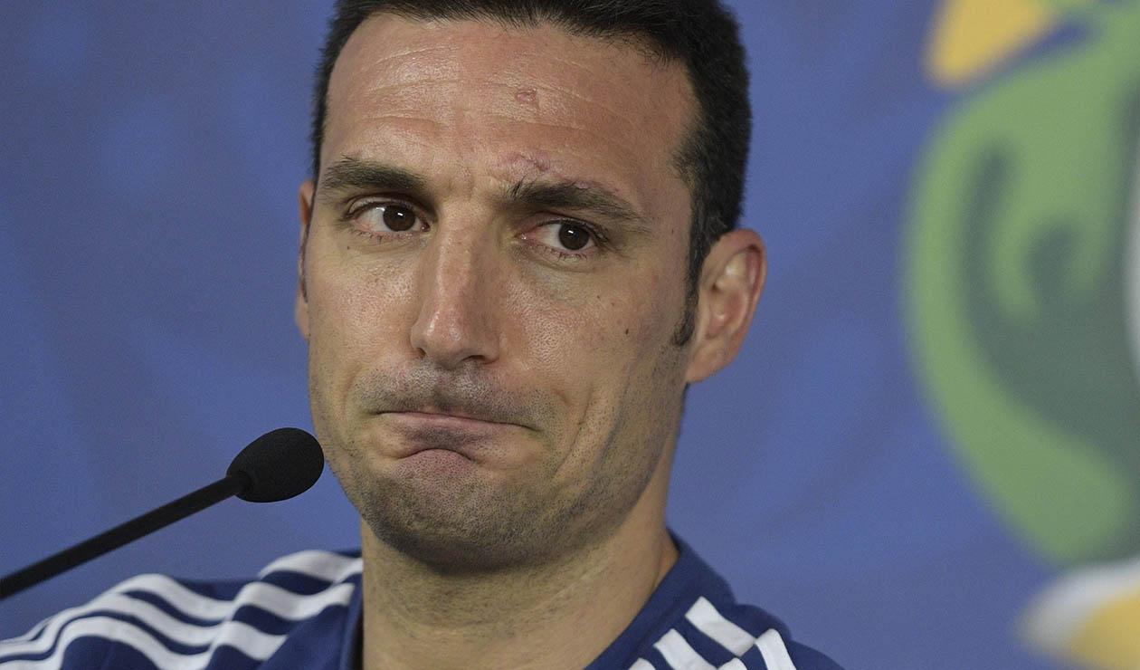 Lionel Scaloni, técnico de la Selección de Argentina