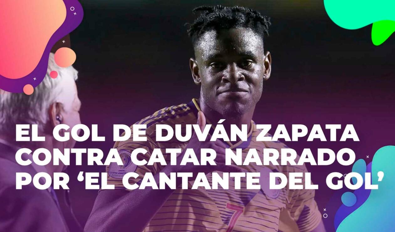 Duván Zapata, Copa América, gol